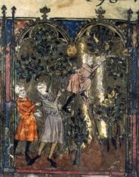 Roman de Thèbes, Maître de Fauvel, vers 1330, BNF, Paris