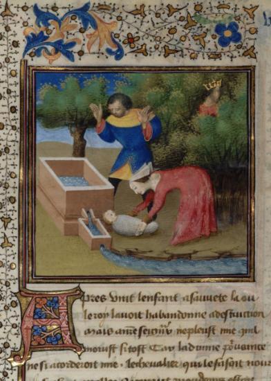 Illustré par Evrard d'Espingues, 1463, BNF, Paris.