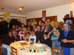 Despues de la comunion y antes de comer! - San Raphael