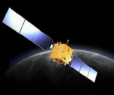 La sonde Chang'E-2 (vue d'artiste)