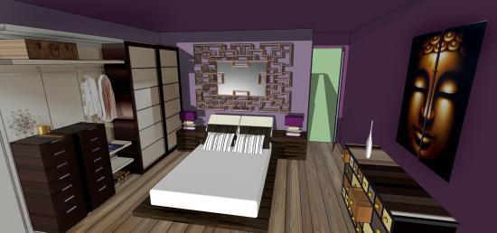 chambre zen. Black Bedroom Furniture Sets. Home Design Ideas