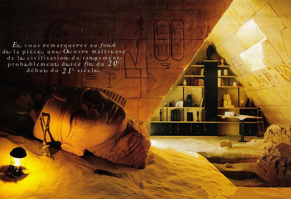 décoration maison égyptienne