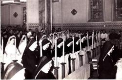 Prises d'habit et profession religieuse - mars 1956