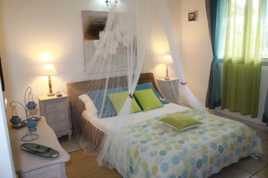 chambre jasmin,location guadeloupe