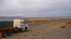 Camion de Mario - cerca de Chos Malal