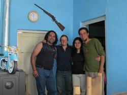 Carlos, Carina y los rusos! (foto de A&G) - Las lajas