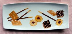 """plat à cake """"biscuits"""""""