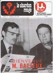 Chardon Rouge de 1972
