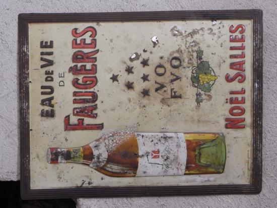 cette affiche était à l'épicerie de Faugères