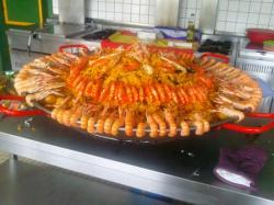 Paella pour 80 personnes