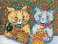Louis Wain...et ses célèbres chats ! Catdolls
