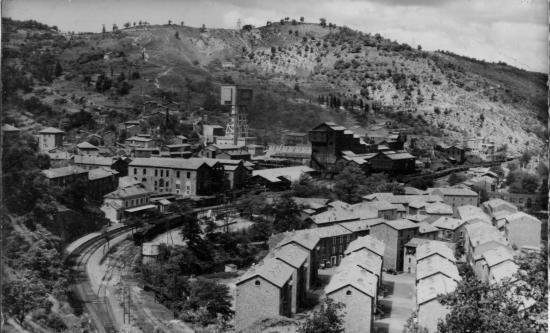 The city of Jerada when coal plants were still operating./Ph. DR