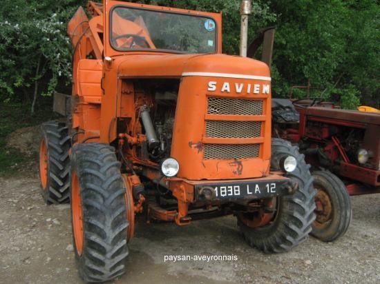 tracteur forestier saviem