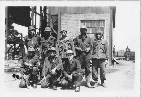 Miners in Jerada./Ph. DR