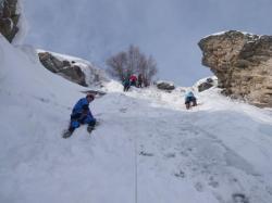 Cascade de glace bonneval