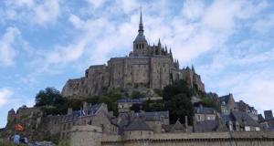 Vue sur le Mont St Michel