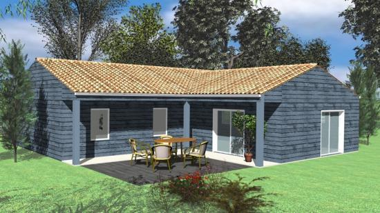 simple with plan maison bois gratuit