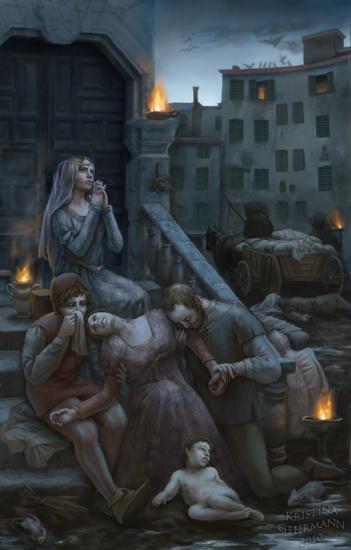 La peste à Florence - 1348