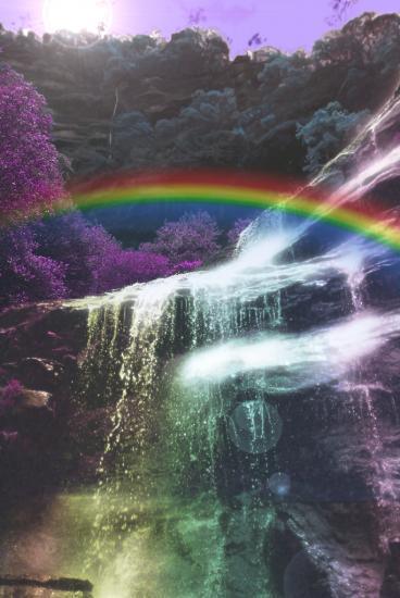 Les suites de la douche de lumi re arc en ciel for Lumiere dans la douche