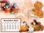 Calendrier Novembre 2010