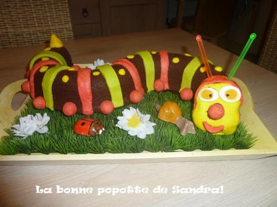 Gateau anniversaire 4 ans ecole arts culinaires magiques - Gateau anniversaire 2 ans ...