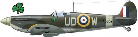Spitfire Vb Finucane