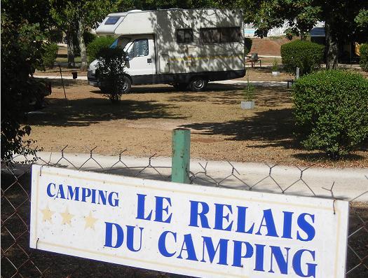 camping-car au camping