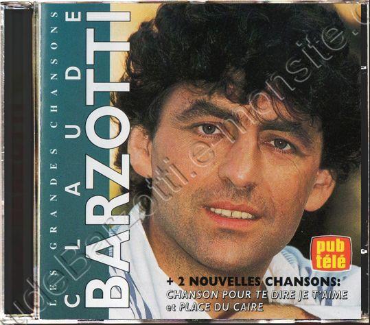 CD bestof Les grandes chansons de Claude barzotti Canada 1995