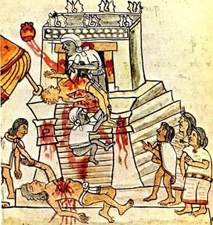 Sacrifice codex mendoza