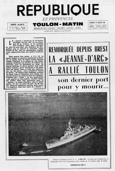 Le Provençal 19 janvier 1966