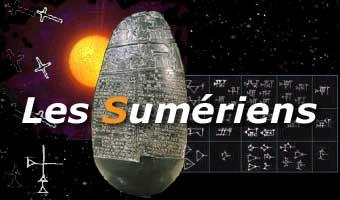 Les Dieux sumériens dans SUMERIENS logo