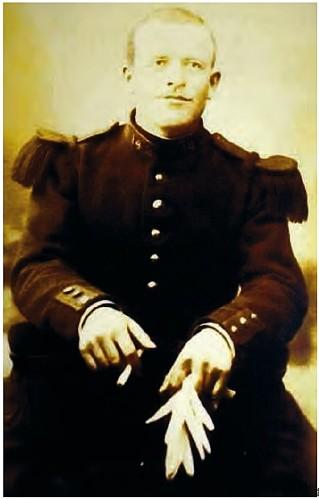 Le soldat de 1ère classe Augustin Trébuchon