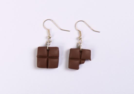 bo carrés de chocolat