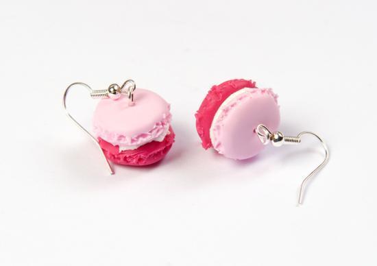 bo macaron fraise/framboise