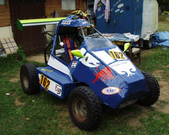 Mon premier kart cross for Idee deco kart cross