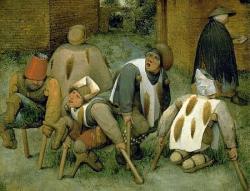 Les mendiants, Bruegel
