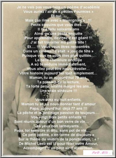 60 ans de mariage - Poeme 60 Ans De Mariage Noces De Diamant