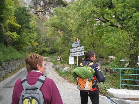 Près du Moulin de la Pipe ( Drôme)