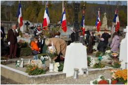 Rendre hommage au carré du soldat...