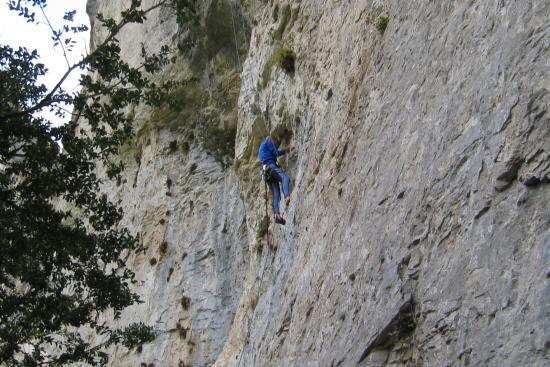 Escalade dans les Gorges d'Omblèze