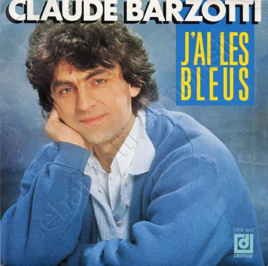 45 tours J'ai les bleus / Tu peux compter sur moi 1987