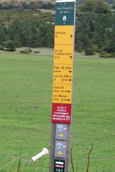 Léoncel à 3,5 km   50 mn