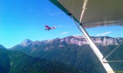 (C) SKy Ranger en Vol au dessus des Bauges