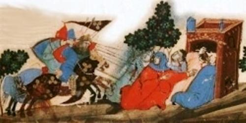 L'attaque des pèlerins