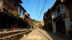 Rue principale de Bandipur