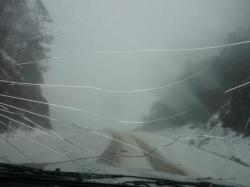 Tormenta de nieve - Paso Garibaldi