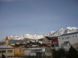 Vista sobre los techos de Ushuaia