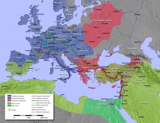 Première croisade 1096-1099