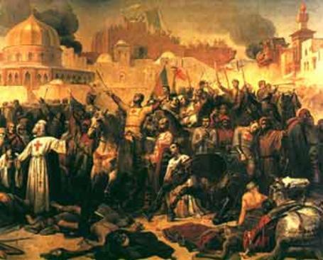 Prise de Jérusalem par les Croisés, le 15 juillet 1099