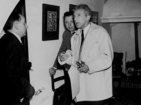 Marcel Dumont,Jean Cocteau,Dominique Ponchardier,Galerie Alphonse Chave à Vence